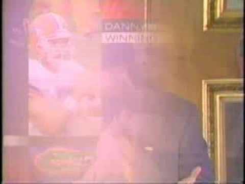 Danny Wuerffel 1996 Heisman Trophy Presentation