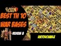 Strongest TH10 Base Post Summer Update Best TH10 War Base Design 8 Clash of Clans