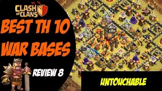 Strongest TH10 Base Post Summer Update! | Best TH10 War Base Design #8 | Clash of Clans