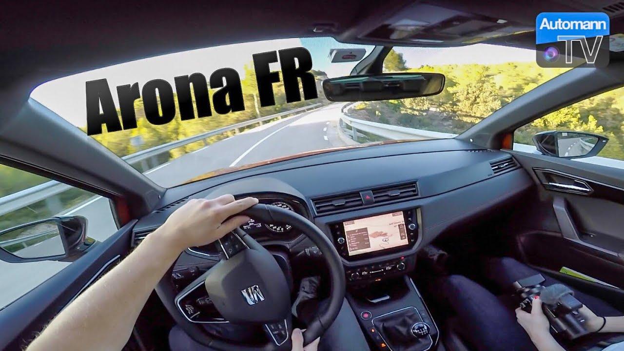 2018 seat arona fr 150hp handling drive 60fps youtube. Black Bedroom Furniture Sets. Home Design Ideas
