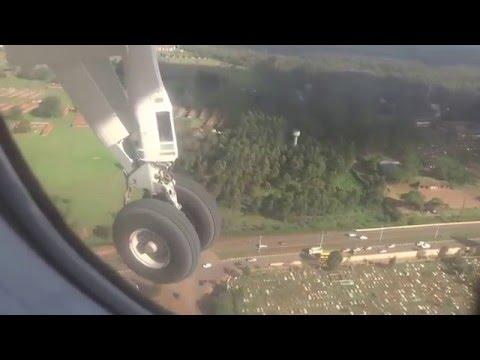 Landing Wilson airport