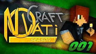 NovatiCraft Season 1 - Part 1 - Minecraft Multiplayer Modded SMP/Co-op Modded Survival - Theguyordie