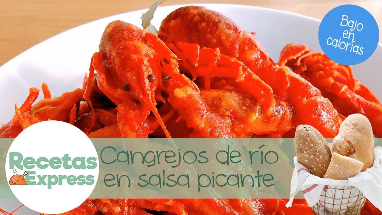 Cangrejos De Río Con Tomate