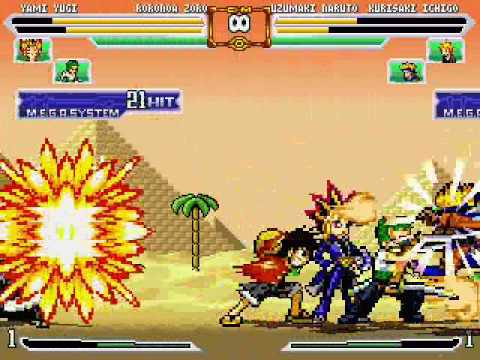 Mugen Jump Ultimate Stars Youtube