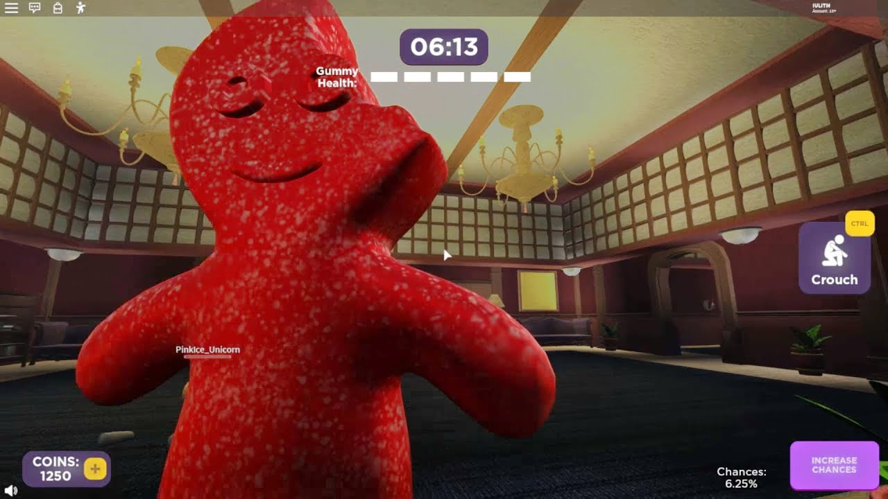 Jumpscare Roblox Games 2020 Roblox Gummy Jumpscare Roblox New Gummy Youtube