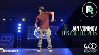 Jan Voinov | FRONTROW | World of Dance Los Angeles 2015 | #WODLA15