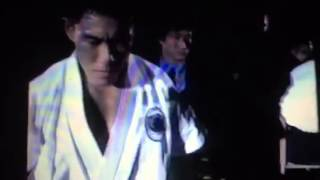 Legend karate Fighter, Hiroki Kurorawa's debut fight in K-1.