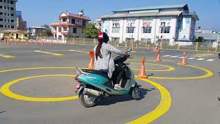 Scooter trial in Kathmandu thumbnail