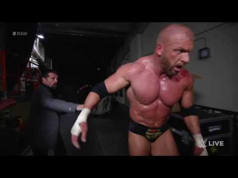 Roman Reigns brutalizes Triple H  Raw, March 14, 2016   Riamu Boss