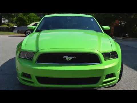 Ford Mustang American Flag Decal + Ceramic Coatings