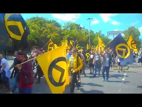 Identitäre Bewegung, Demo in Berlin am 17.6.2017