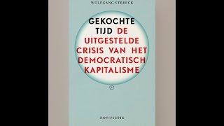 Gekochte Tijd, Wolfgang Streeck - Ewald Engelen @ Goethe Institut Amsterdam
