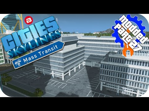 Cities Skylines Gameplay: SIPATEA INTELLIGENCE AGENCY Cities: Skylines Mods MASS TRANSIT DLC Part 27
