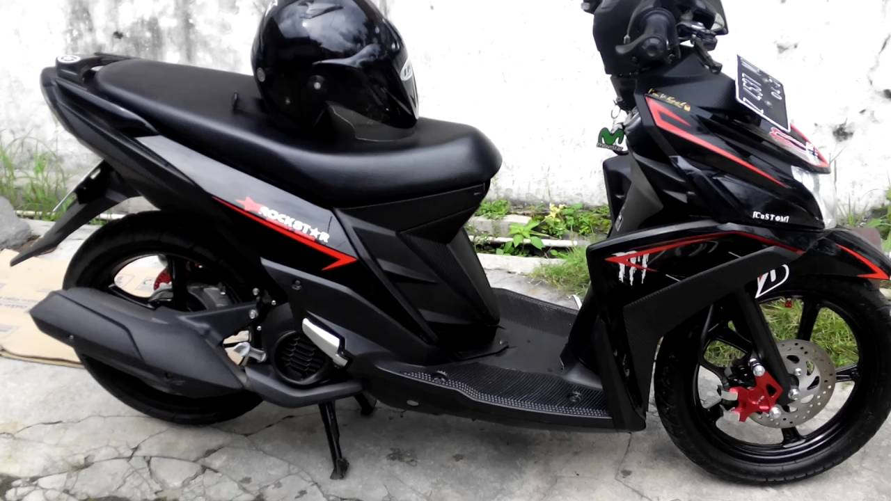 referensi modifikasi mio black