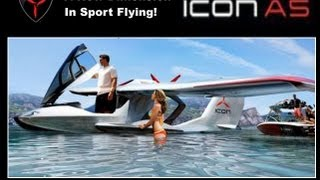 icon a5 from icon aircraft amphibious light sport aircraft