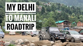My Delhi To Manali Road Trip !!! Video