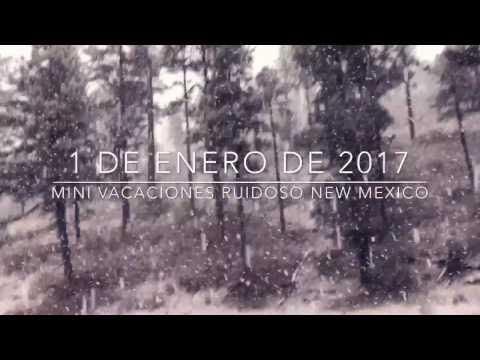 1/Enero/2017 MINI VACACIONES RUIDOSO NEW MEXICO (Parte 3)