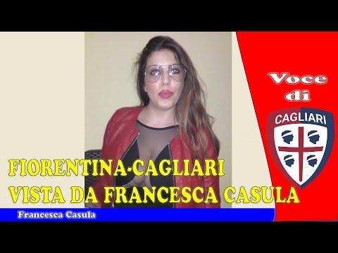 Fiorentina Cagliari vista da Francesca Casula ⚽