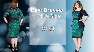Платья для полных 2014 - лучшие модели