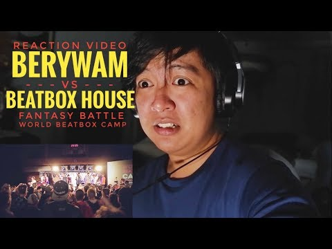REACTION | BERYWAM vs BEATBOX HOUSE | Fantasy Battle | World Beatbox Camp