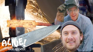 Brad Makes A Knife with Bob Kramer | It's Alive | Bon Appétit