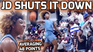 JD Davison CANNOT BE STOPPED! Scores 47 POINTS & Makes Road Gym LOSE IT! Averaging 48 PTS A Game 😱
