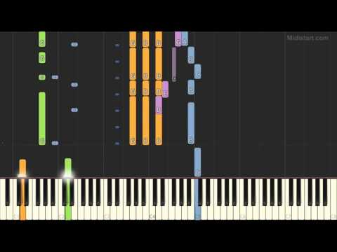 Bee Gees - Words (Piano Tutorial) [Synthesia Cover]