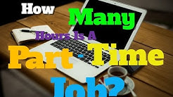 How Many Hours Is A Part Time Job