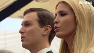 Ivanka Trump and Jared Kushner open the new US embassy in Jerusalem | ITV News