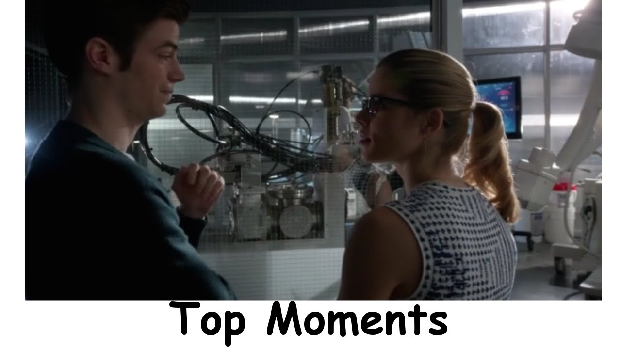 Top Moments The Flash Season 1 Episode 18 All Star Team Up ...