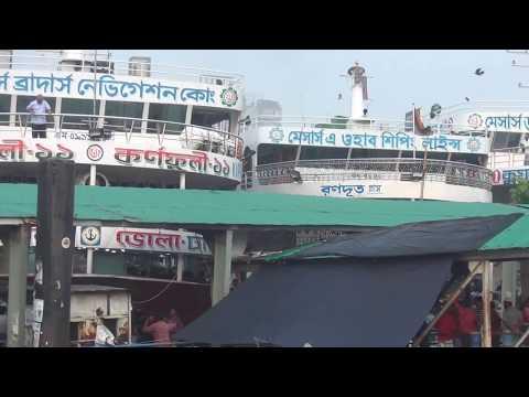 Big 6 Ship Launch Dhaka Bangladesh  বড় ৬ টি লঞ্চ দেখুন এক সাথে HD Video 111