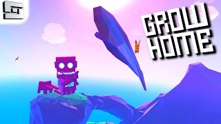 Grow Home Gameplay - TIME TO GLIDE! PC - Part 3