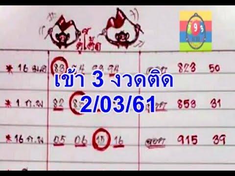 ตรวจหวย งวด 16 กันยายน 2561 ล่าสุด: ตรวจสลากกินแบ่งรัฐบาล ได้ที่นี่