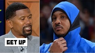Jalen Rose explains why Carmelo Anthony isn't an 11th man on an NBA team | Get Up