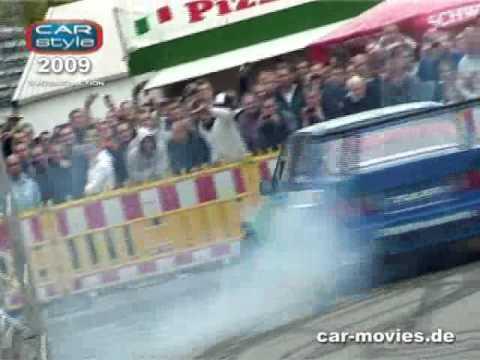 CARstyle-Hamburg.de  2009 Outdoor Driften Racing Stunts Video by car-movies.de