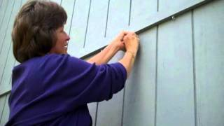 Installing A Clematis Vine On A Wall Using Invisiclimb Invisible Trellis