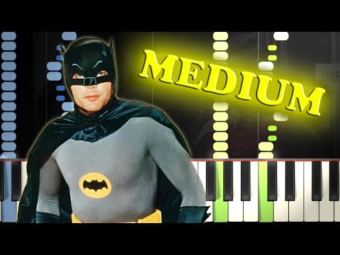 BATMAN THEME - Piano Tutorial
