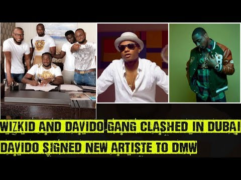 Wizkid And Davido's Team Clashed In...