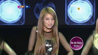 111210 K-POP CON 원더걸스 1위 소감 + Be My Baby