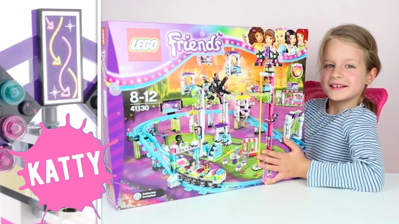 Распаковываем Лего Френдс - Парк Развлечений и Американские горки - Lego Friends | Hello Katty