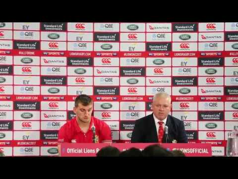LIONS VICTORY FULL Post match vs All Blacks 2nd Test Wellington