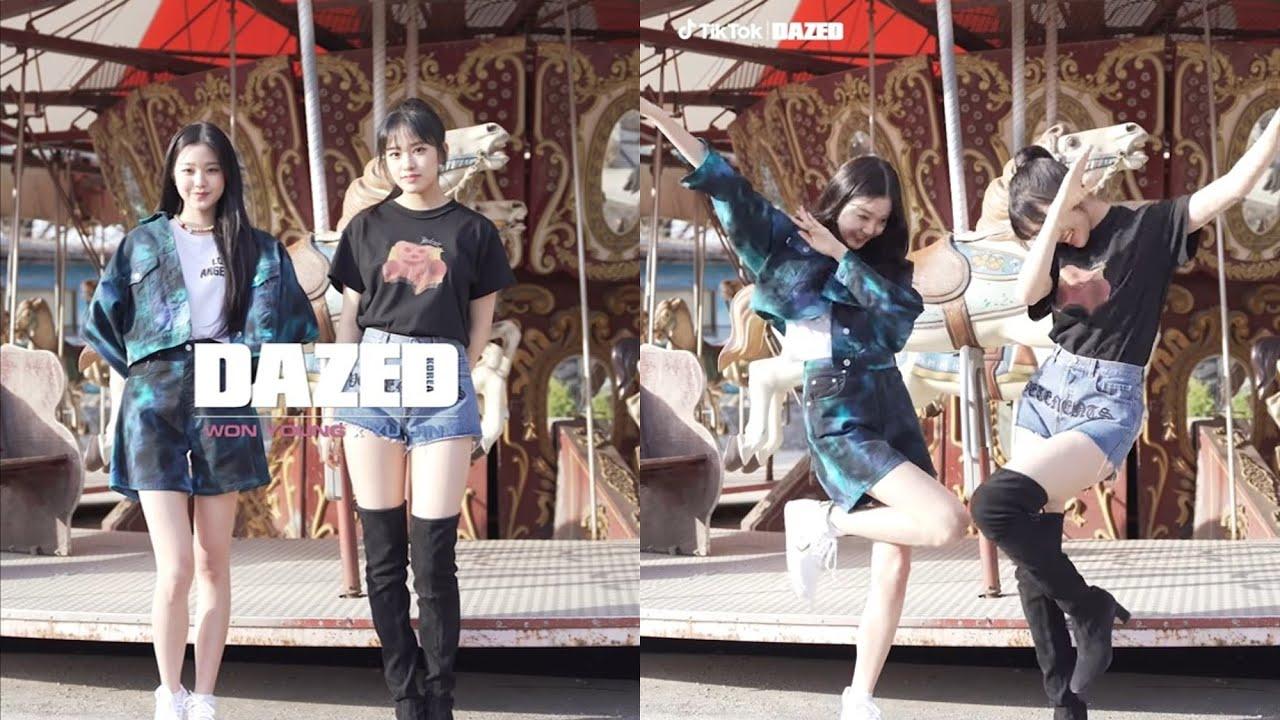 2K】IZONE x DAZED KOREA & TikTok Ep.1 ft. Jang WonYoung & An YuJin - YouTube