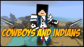 Minecraft Mini-Game: Cowboys and Indians - INDIANS WIN!