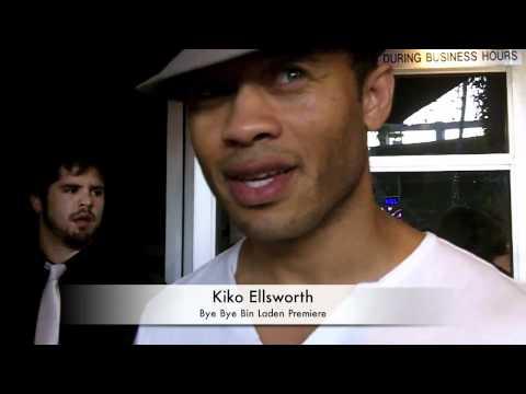 """Kiko Ellsworth Talks """"Nine Lives of Chloe King"""" at Bye Bye Bin Laden Premiere!"""