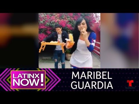 Maribel Guardia debuta en Tik Tok con divertido video | Latinx Now! | Entretenimiento