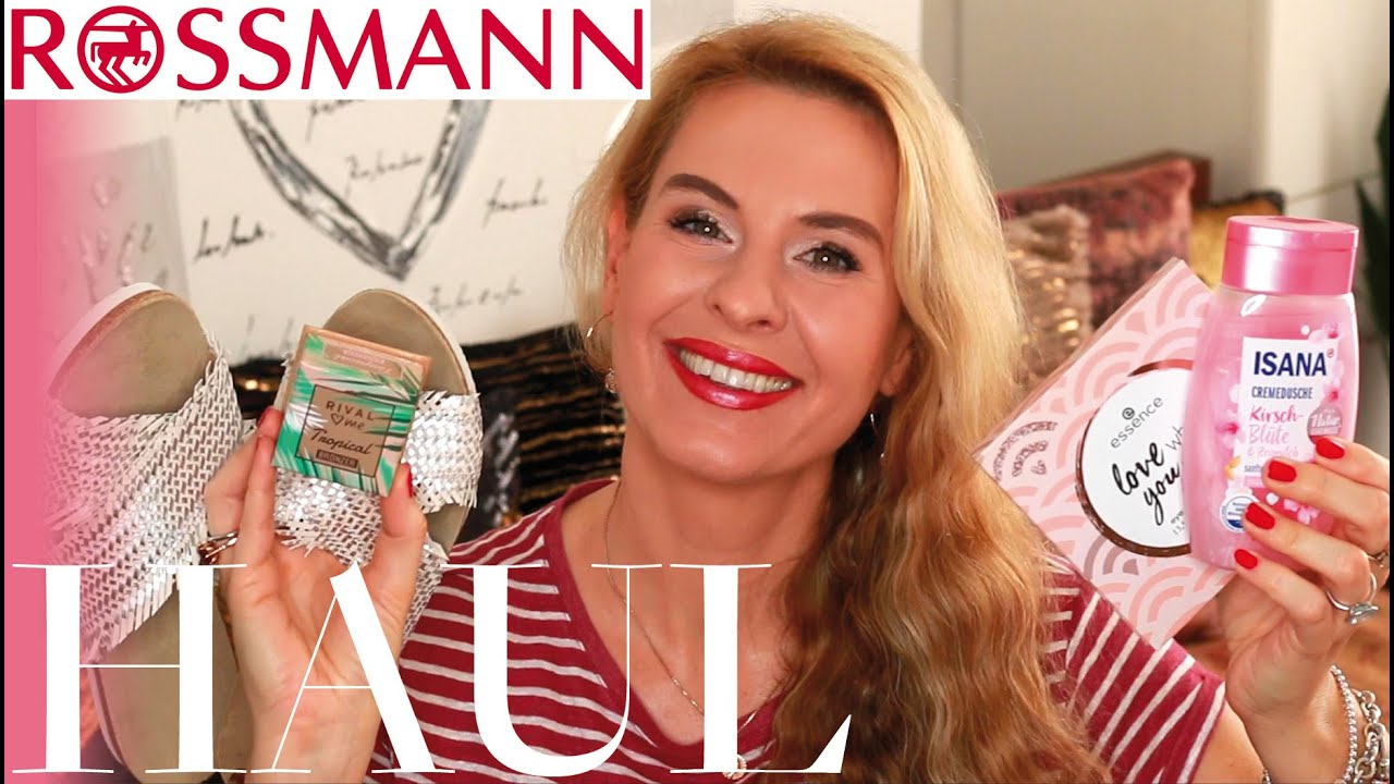 XXL Rossmann Haul Isana NEUE Essence Palette Bronzer Dupe Schmuck Leckeres I Amelie with Love