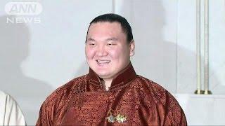 大相撲1月場所で史上最多となる33回目の優勝を果たした横綱・白鵬が母国...