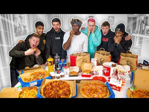 SIDEMEN EAT 70,000 CALORIES IN 24 HOURS CHALLENGE