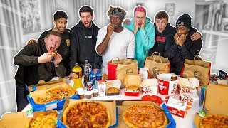Download SIDEMEN EAT 70,000 CALORIES IN 24 HOURS CHALLENGE Mp3 and Videos