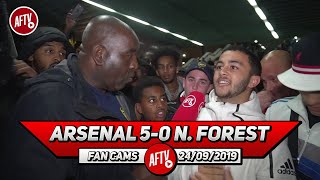 Arsenal 5-0 Nottingham Forest | Saka Was Looking Like Ronaldo At Moments Tonight! (Frank)